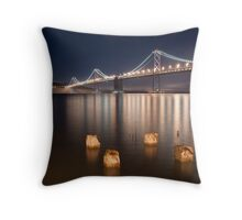 A Not Too Foggy Night Throw Pillow