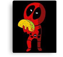 Precious Taco Canvas Print