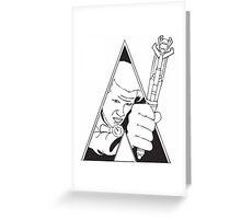 Clockwork Doctor Greeting Card