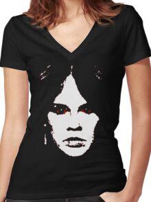 Regan Women's Fitted V-Neck T-Shirt