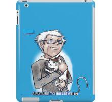 Bernie Sanders hugging a cat. iPad Case/Skin
