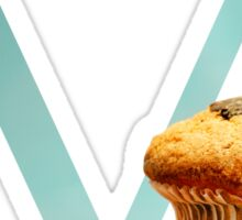 M for Muffin Sticker