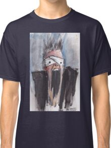 Study of Button Eyes - David Bowie Portrait Classic T-Shirt
