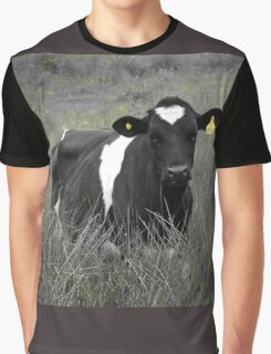 Lonely Cow Graphic T-Shirt