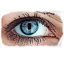 Great Eye Pop Art, Graphic! Poster