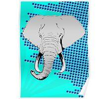 POP Elephant Poster