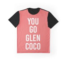 Mean Girls 'You Go Glen Coco Graphic T-Shirt
