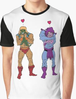 He-Man and Skeletor Snuggle Break Graphic T-Shirt