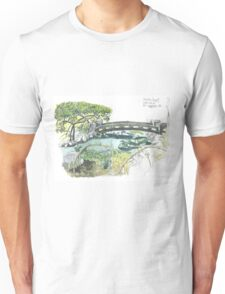 Japanese garden Budapest Unisex T-Shirt