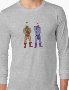 He-Man and Skeletor Snuggle Break Long Sleeve T-Shirt