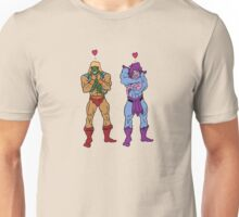 He-Man and Skeletor Snuggle Break Unisex T-Shirt
