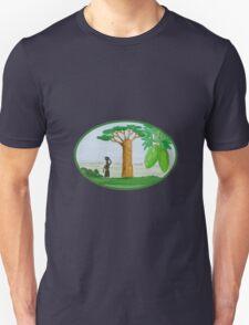 Baobab Tree and Fruit Watercolor T-Shirt