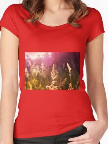 Grass Women's Fitted Scoop T-Shirt
