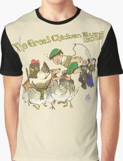 The Great Chicken Run 2016 Graphic T-Shirt