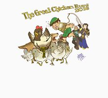 The Great Chicken Run 2016 Womens Fitted T-Shirt