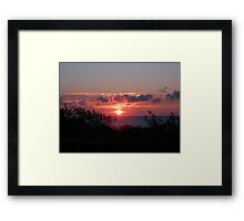 Nauset Sunset Framed Print