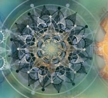 The seven chakras (horizontal) by BrendaErickson