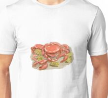 Cajun Seafood Watercolor Unisex T-Shirt