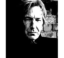 Alan Rickman Artist Photographic Print
