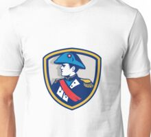 Napoleon Bonaparte Bicorn Hat Crest Retro Unisex T-Shirt