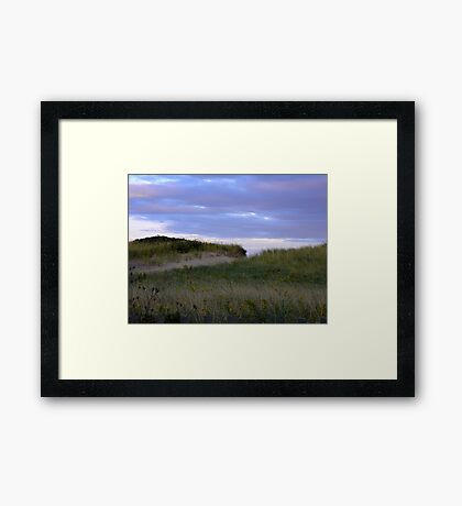 Dune Access Framed Print