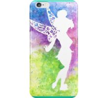 tink multi coloured silhouette  iPhone Case/Skin