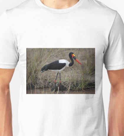 Saddle Billed Stork Unisex T-Shirt