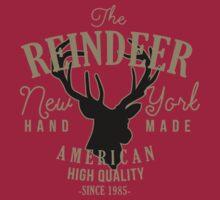 Reindeer Vintage Appareal by inkDrop