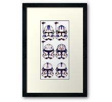 501st 6-pack Framed Print