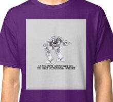 ED-209 - Authorized [Robocop] Classic T-Shirt