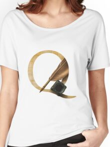 Q for Quill Women's Relaxed Fit T-Shirt