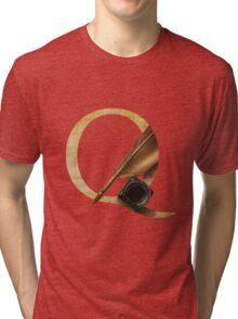 Q for Quill Tri-blend T-Shirt