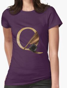 Q for Quill Womens Fitted T-Shirt