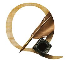 Q for Quill by weareydesigns