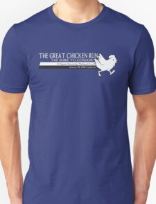 Great Chicken Run Academic T-Shirt