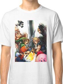 Smash Bros Cloud Promo Art Full Graphic Tee Classic T-Shirt