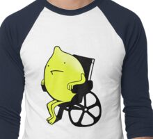 Sandy Lemons Logo Men's Baseball ¾ T-Shirt