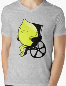 Sandy Lemons Logo Mens V-Neck T-Shirt