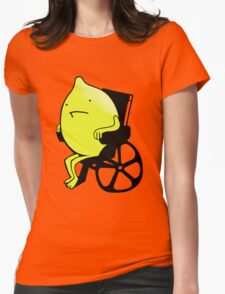 Sandy Lemons Logo Womens Fitted T-Shirt