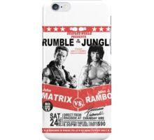 Rumble In the Jungle iPhone Case/Skin