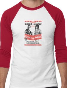 Rumble In the Jungle Men's Baseball ¾ T-Shirt