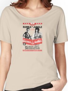 Rumble In the Jungle Women's Relaxed Fit T-Shirt