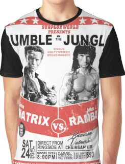 Rumble In the Jungle Graphic T-Shirt