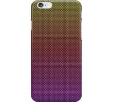 Rainbow Pinks and Reds and Yellows Kevlar Carbon Fiber Pattern iPhone Case/Skin