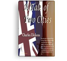 A Tale of Two Cities Text Canvas Print