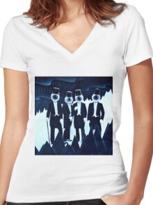 The Residents Women's Fitted V-Neck T-Shirt