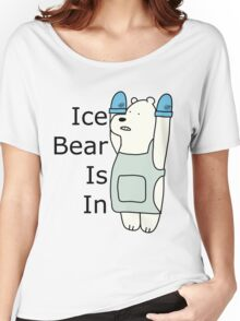 Ice Bear Is In Women's Relaxed Fit T-Shirt