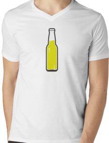 A beer bottle Mens V-Neck T-Shirt