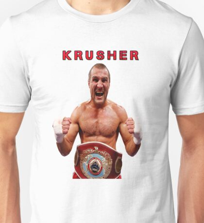 Sergey Kovalev Krusher boxing  Unisex T-Shirt