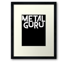 Metal Guru T Shirt Framed Print